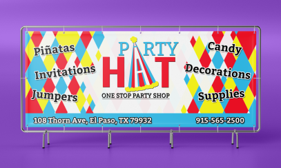 Party Hat Banner