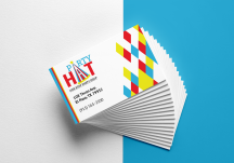 Party Hat Business Card