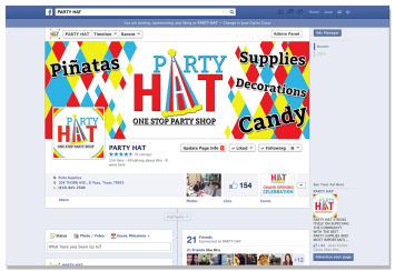 Party Hat Facebook